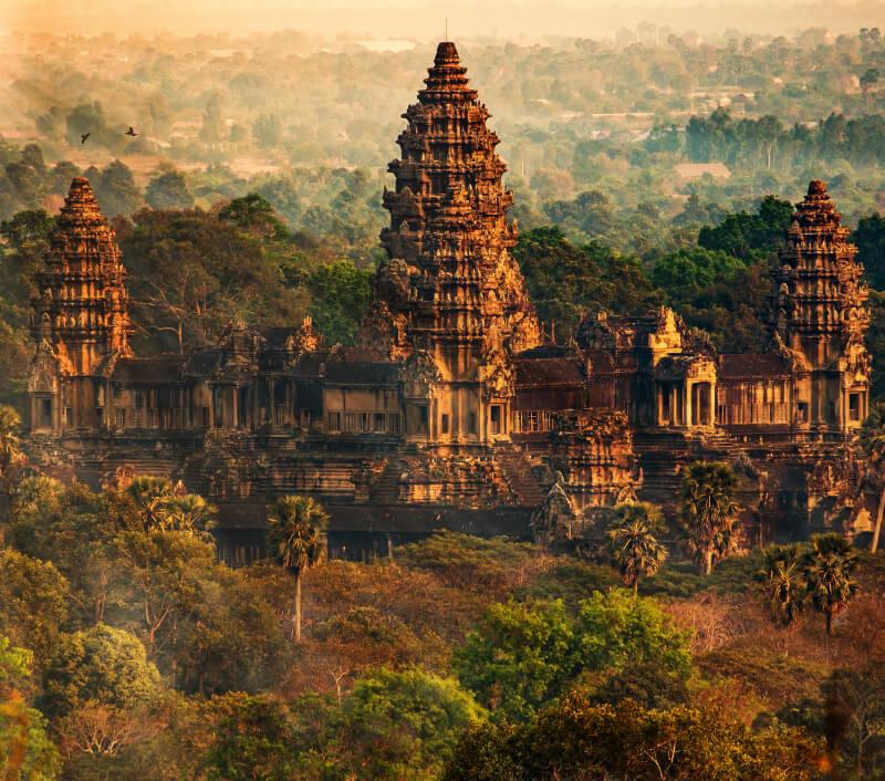 Das weltberühmte Angkor Wat in Kambodscha. Foto: Mike Fuchslocher / Shutterstock.com