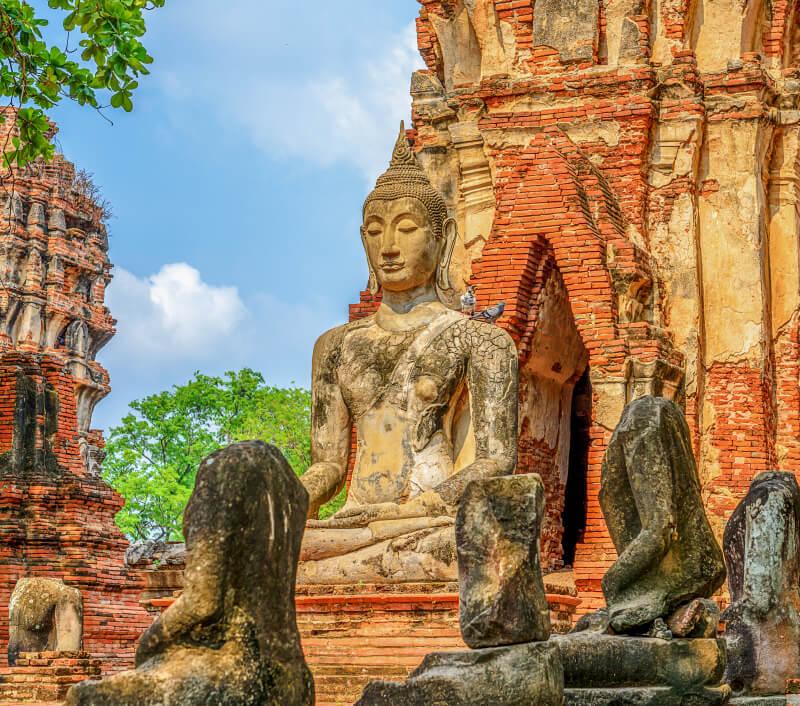 Ayutthaya in Thailand. Foto: Songsak Pandet / Shutterstock.com