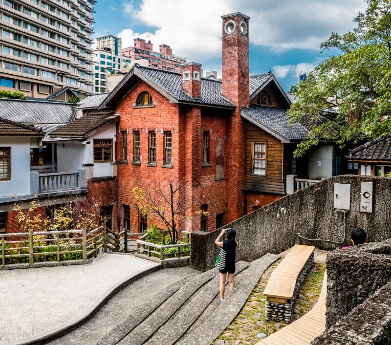 Das Beitou Hot Spring Museum in Taipeh. Foto: H-AB / Shutterstock.com