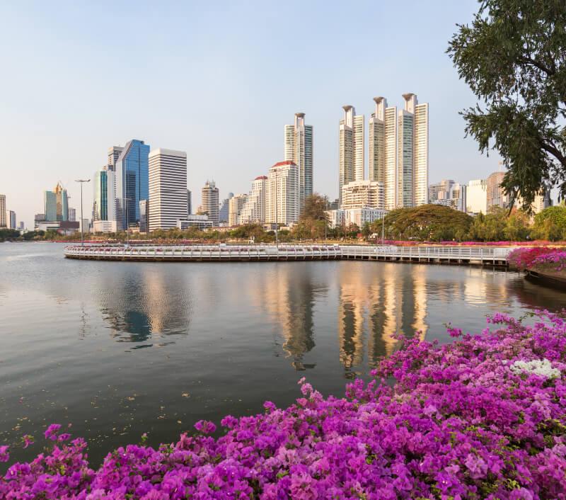 Der Benjakitti Park in Bangkok. Foto: Tuomas Lehtinen / Shutterstock.com