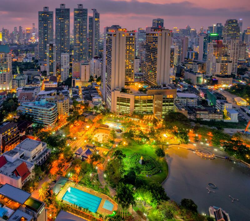 Der Benchasiri Park in Bangkok. Foto: Mongkol Foto / Shutterstock.com