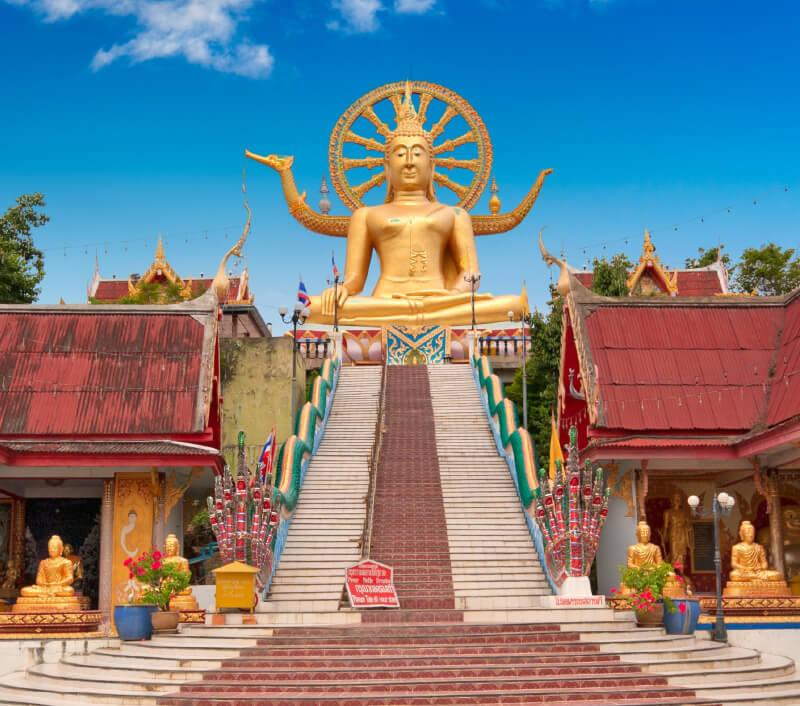 Der Big Buddha Tempel auf Koh Samui. Foto: Vitaly Titov / Shutterstock.com