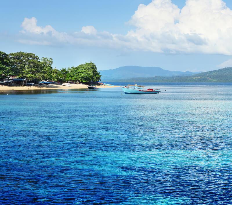 Bunaken ist bekannt für seinen artenreichen Nationalpark. Foto: Dudarev Mikhail / Shutterstock.com