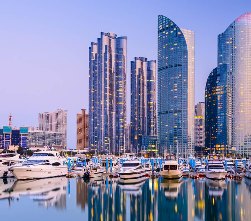 Busan, die zweitgrößte Stadt von Südkorea. Foto: Sean Pavone / Shutterstock.com