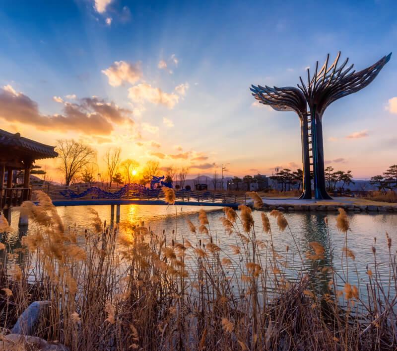 Daegu in Südkorea. Foto: Rakchat / Shutterstock.com