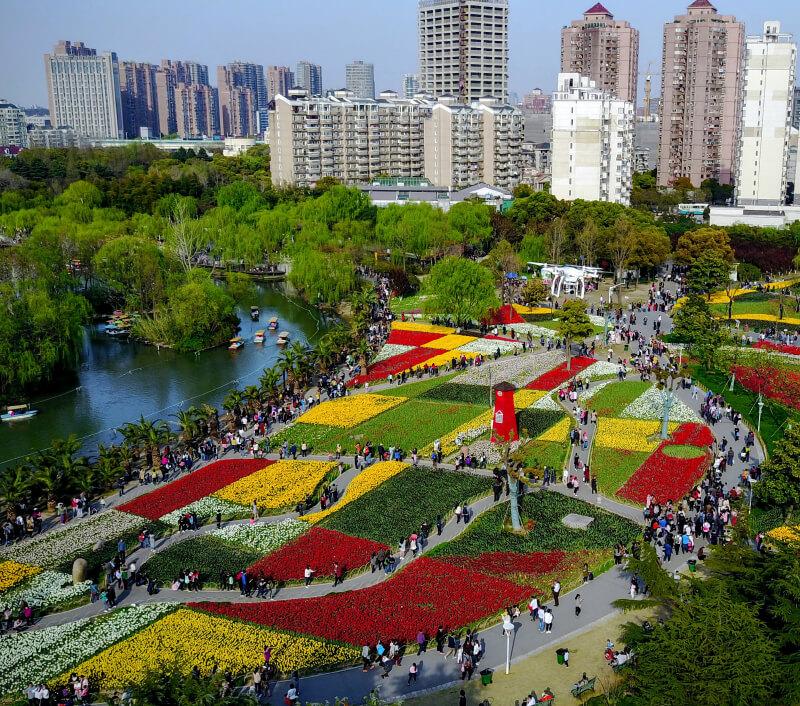 Da'ning Lingshi Park in Shanghai. Foto: BooGEL / Shutterstock.com