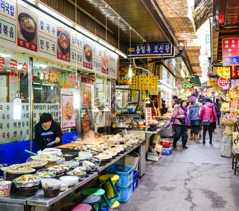 Dongdaemun Market in Seoul. Foto: Sean Pavone / Shutterstock.com