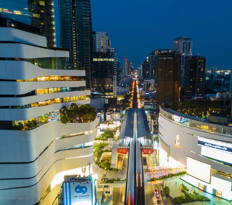 Das Einkaufszentrum EmQuartier in Bangkok. Foto: James Jones Jr / Shutterstock.com