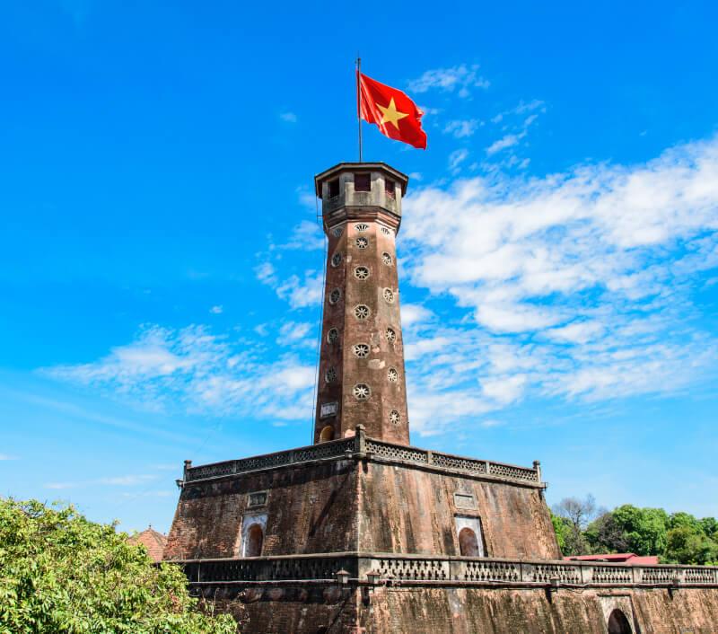 Der Flaggenturm von Hanoi (Cột cờ Hà Nội). Foto: Trong Nguyen / Shutterstock.com