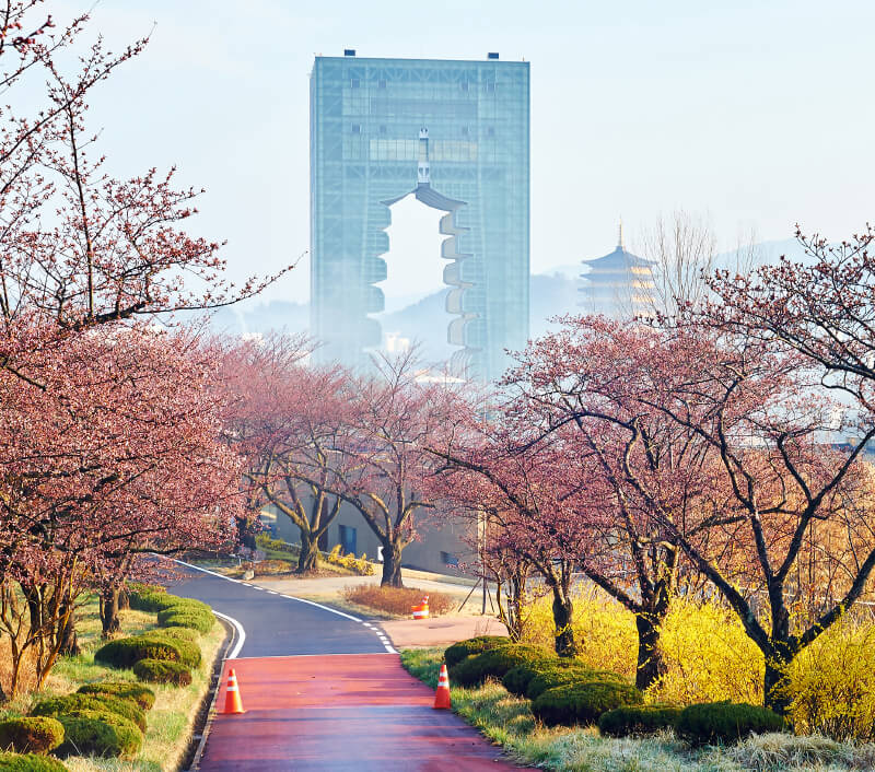 Die frühere Hauptstadt Gyeongju in Südkorea. Foto: photo_jeongh / Shutterstock.com