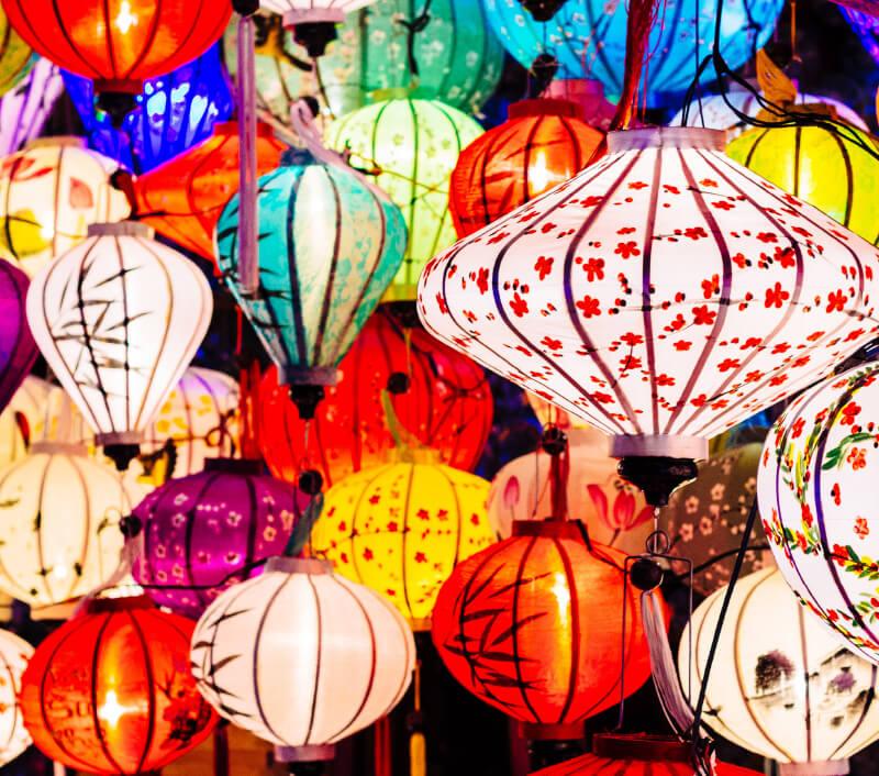 Hội An, die alte Hafenstadt in Zentralvietnam. Foto: Iryna Hromotska / Shutterstock.com