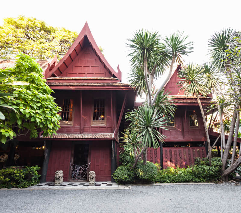 Jim Thompson House in Bangkok. Foto: saiko3p / Shutterstock.com