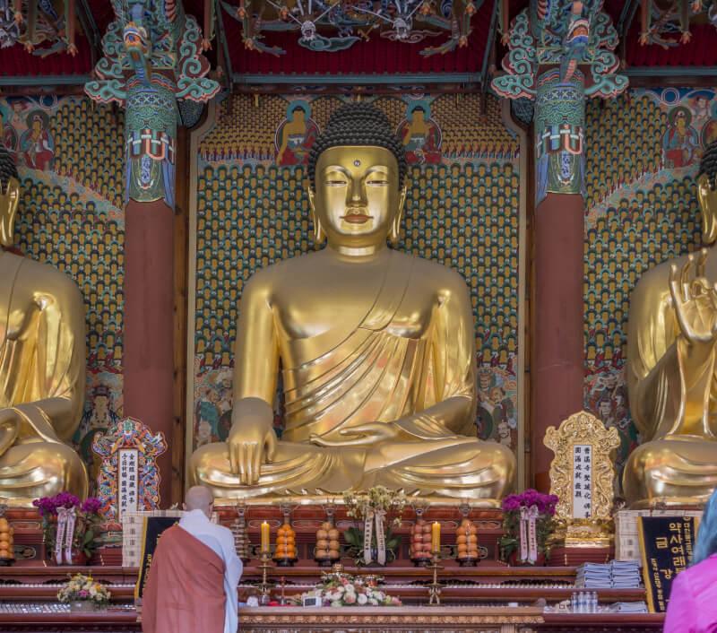 Jogyesa-Tempel in Seoul. Foto: oadtz / Shutterstock.com