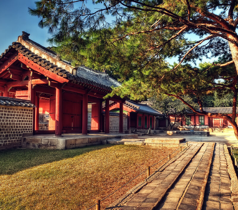 Der Jongmyo-Schrein in Seoul. Foto: Lukas Bischoff Photograph / Shutterstock.com