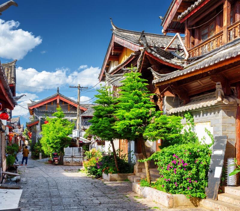 Die Altstadt von Lijiang in der chinesischen Provinz Yunnan. Foto: Efired / Shutterstock.com