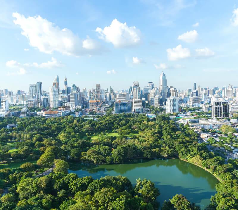Lumphini-Park in Bangkok. Foto: tonkid / Shutterstock.com