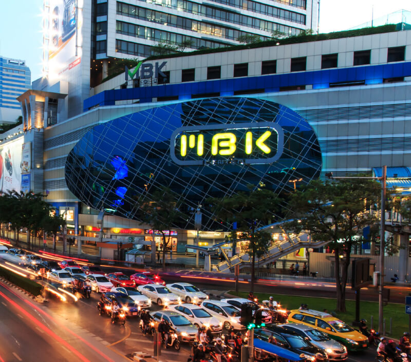 MBK Center (Ma Boon Khrong Center) in Bangkok. Foto: outcast85 / Shutterstock.com