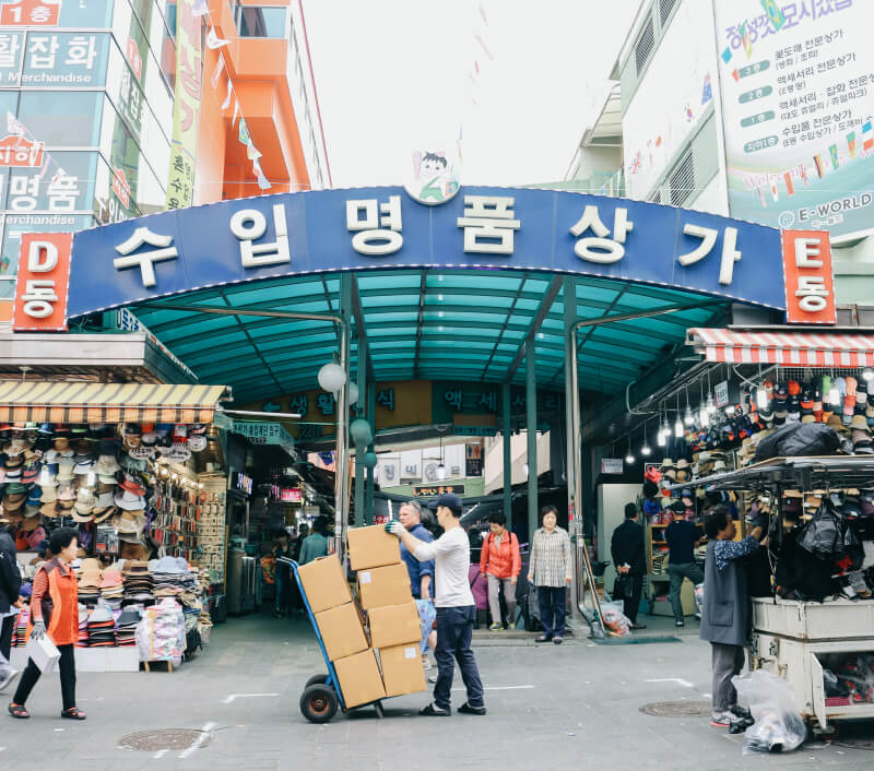 Namdaemun Market in Seoul. Foto: PangJee_S / Shutterstock.com