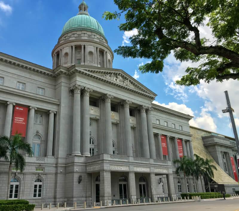 Die National Gallery in Singapur. Foto: nisit keawnoi / Shutterstock.com