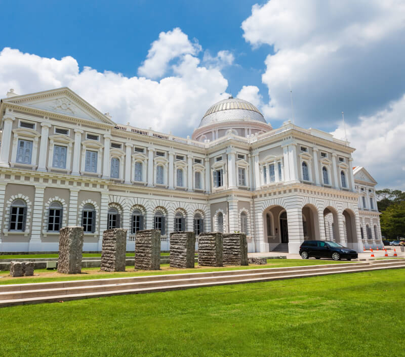 Das Nationalmuseum in Singapur. Foto: saiko3p / Shutterstock.com