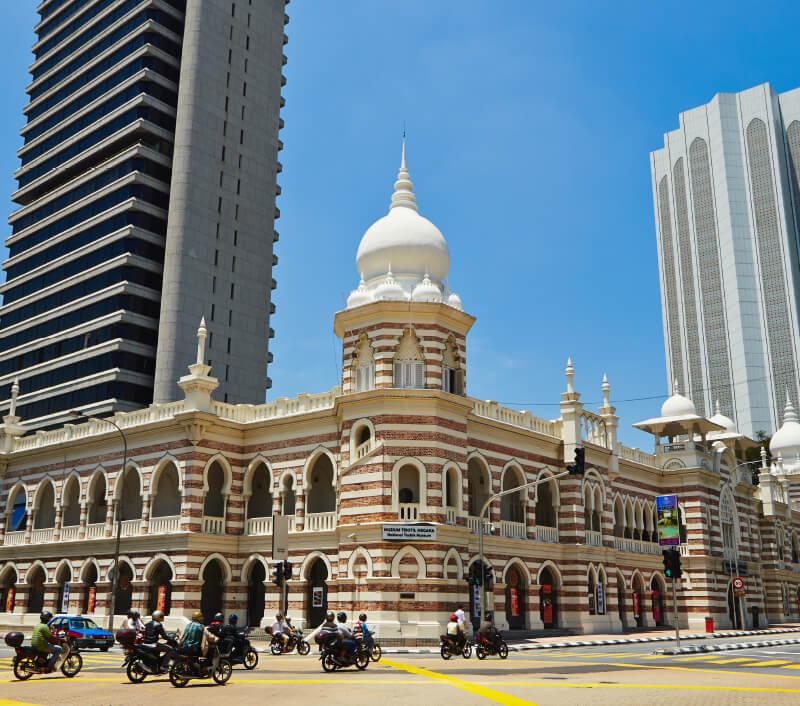 Das Nationale Textilmuseum in Kuala Lumpur. Foto: Jaromir Chalabala / Shutterstock.com