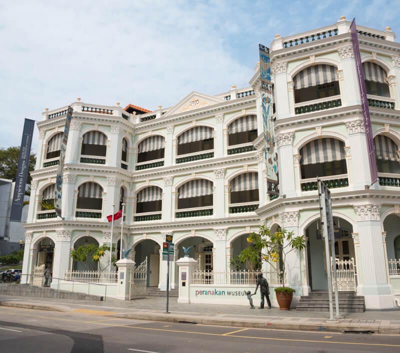 Das Peranakan Museum in Singapur. Foto: DoublePHOTO studio / Shutterstock.com