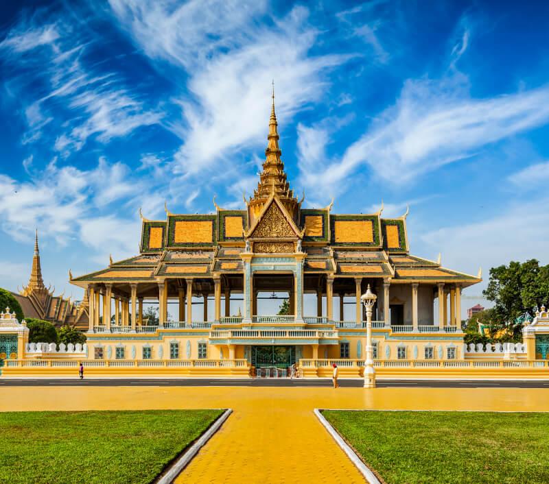 Phnom Penh, die Hauptstadt von Kambodscha. Foto: DR Travel Photo and Video / Shutterstock.com