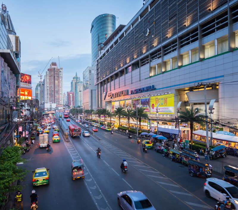 Platinum Fashion Mall in Bangkok. Foto: Kriang kan / Shutterstock.com