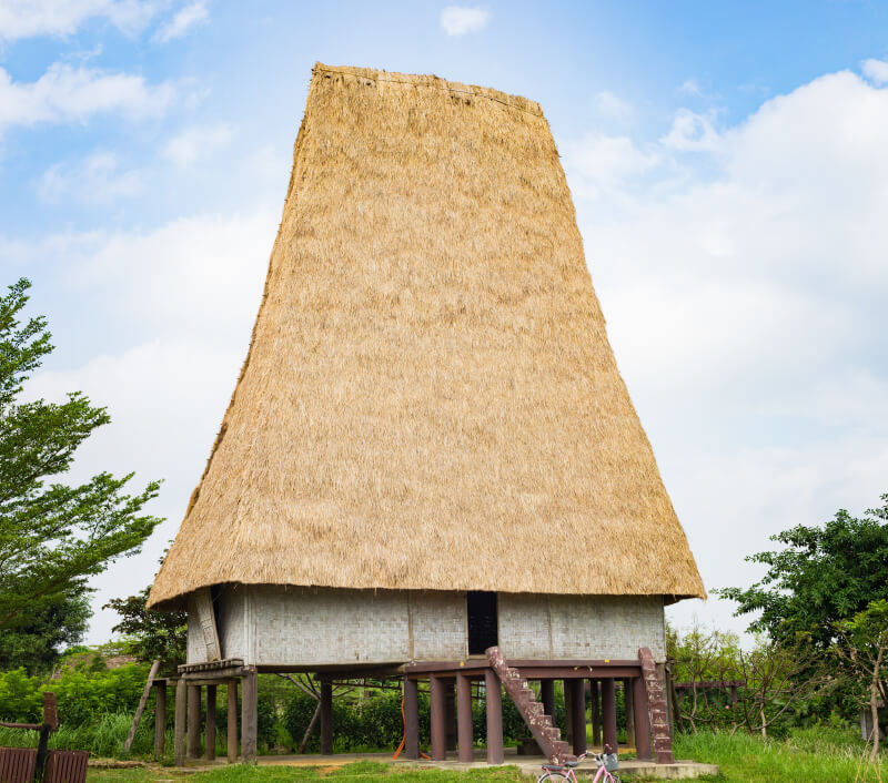 Ein traditionelles Haus in Pleiku, Provinz Gia Lai. Foto: Vietnam Stock Images / Shutterstock.com