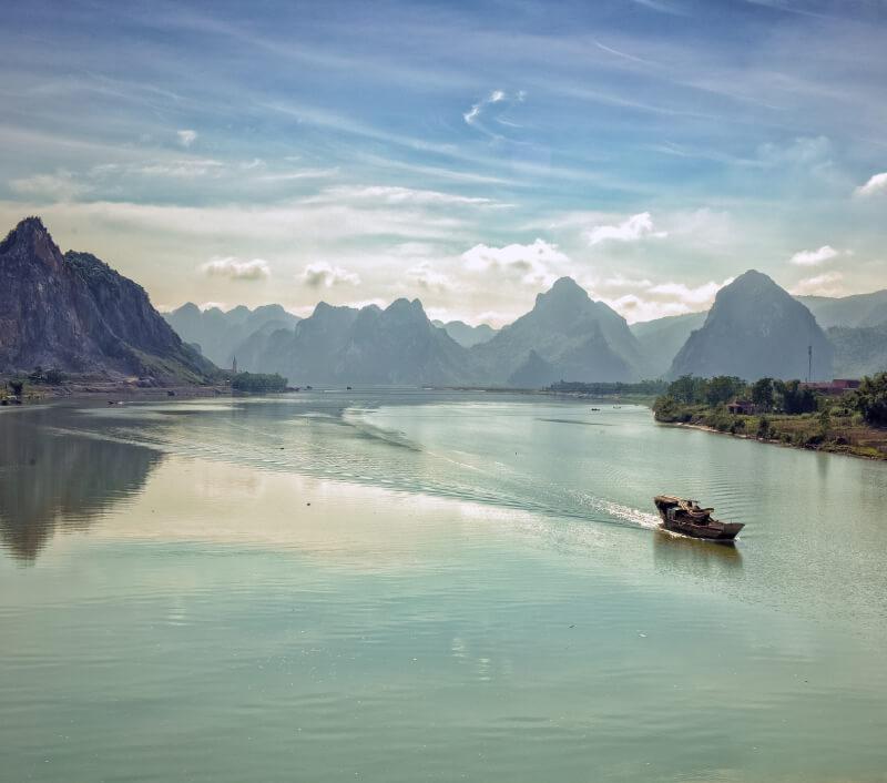 Quảng Bình in Vietnam ist bekannt für seine landschaftliche Schönheit. Foto: Loner Nguyen / Shutterstock.com