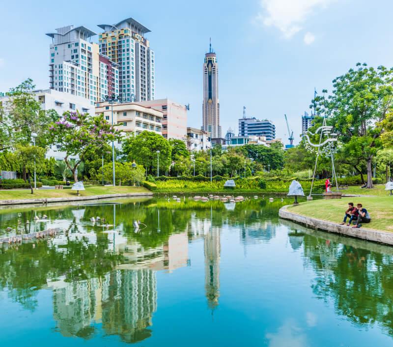 Der Santiphap Park in Bangkok. Foto: Takashi Images / Shutterstock.com