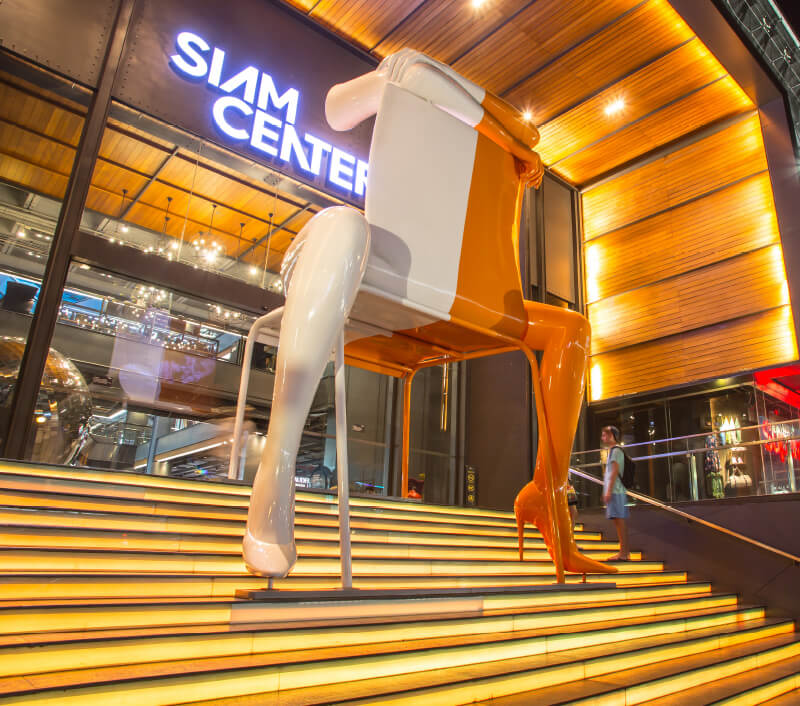 Einkaufszentrum Siam Center in Bangkok. Foto: roroto12p / Shutterstock.com