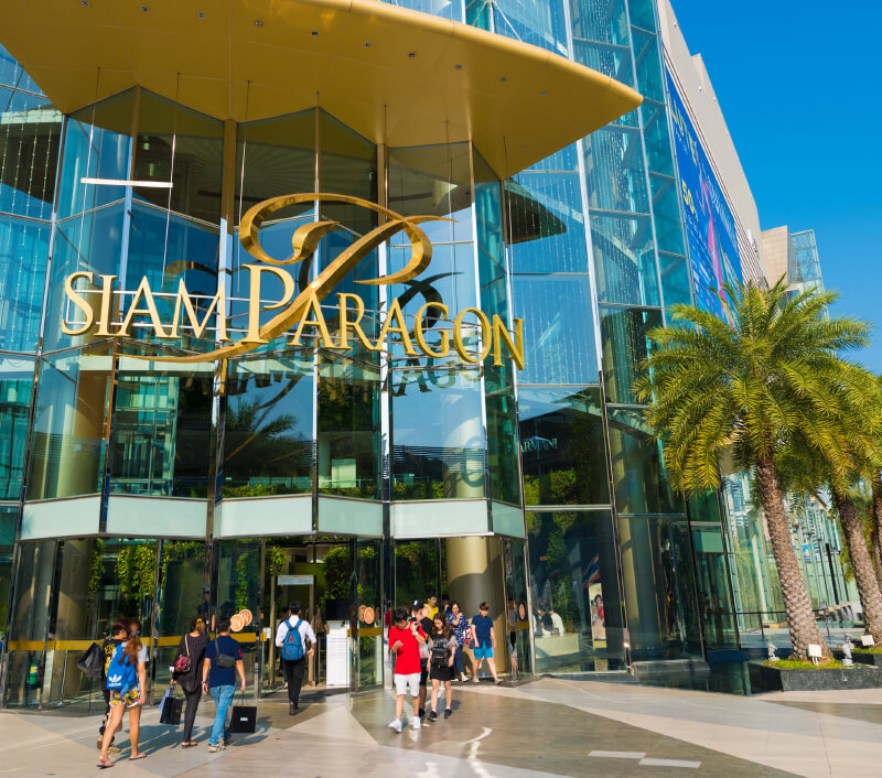 Siam Paragon Einkaufszentrum in Bangkok. Foto: withGod / Shutterstock.com