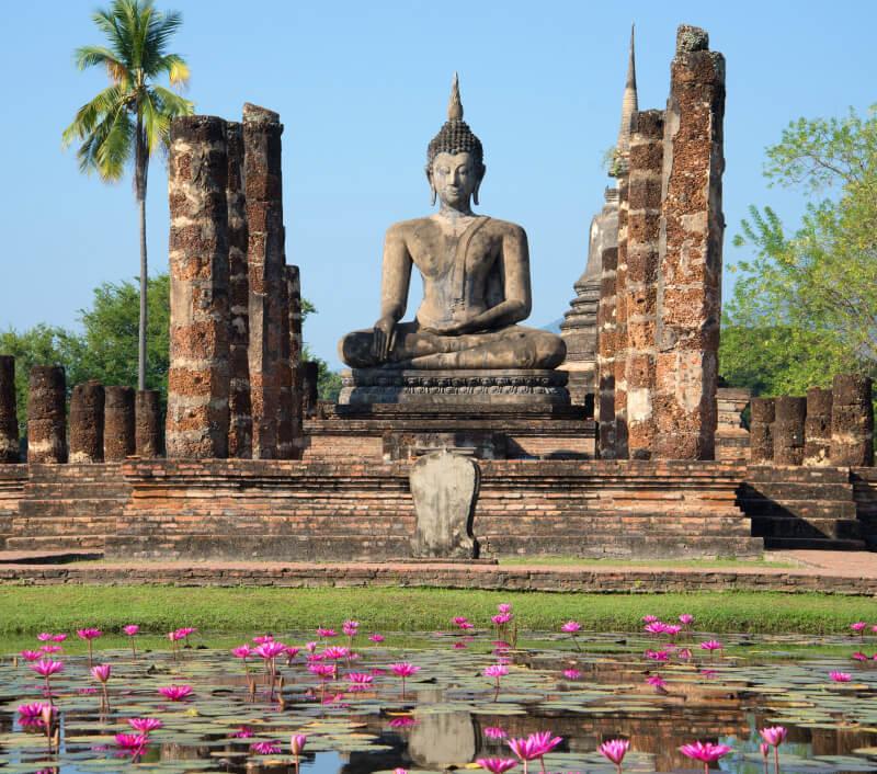 Sukhothai, die alte Hauptstadt in Nordthailand. Foto: Karasev Victor / Shutterstock.com