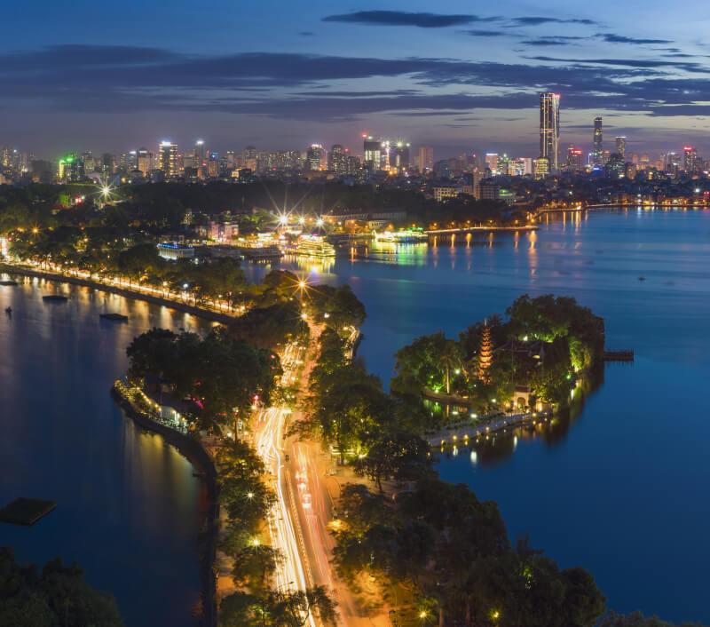 West Lake in Hanoi. Foto: Vietnam Stock Images / Shutterstock.com