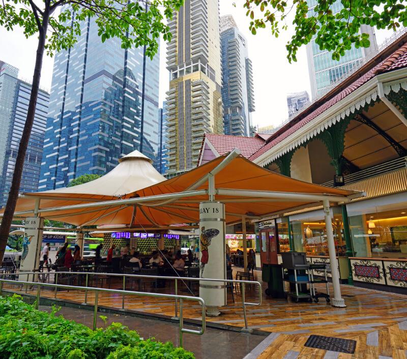 Telok Ayer-Markt (Lau Pa Sat) in Singapur. Foto: EQRoy / Shutterstock.com