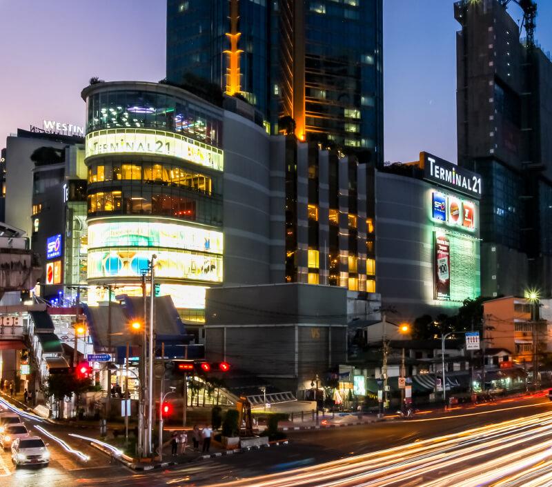 Das Einkaufszentrum Terminal 21 in Bangkok. Foto: BookyBuggy / Shutterstock.com