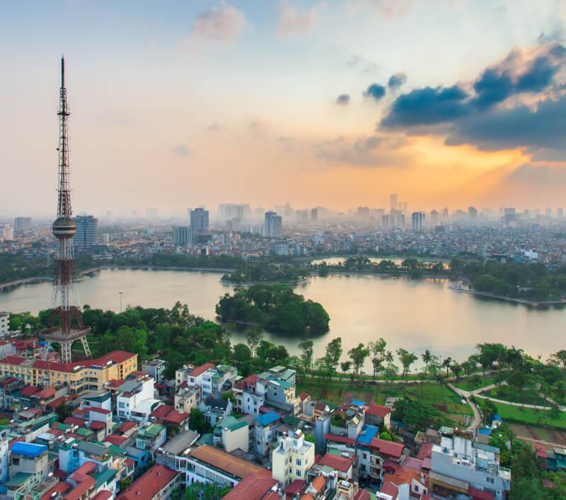 Thong Nhat Park in Hanoi. Foto: Nguyen Duc Hieu / Shutterstock.com