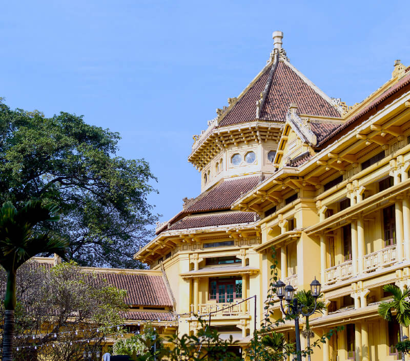 Vietnam National Museum of History in Hanoi. Foto: Mikhail Gnatkovskiy / Shutterstock.com