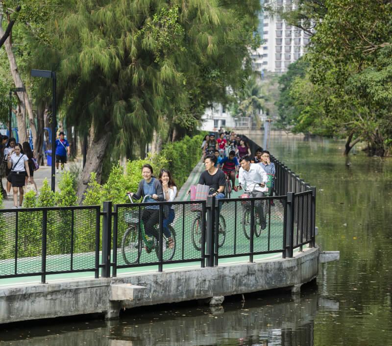 Wachirabenchathat Park, Bangkok. Foto: enlightened101 / Shutterstock.com