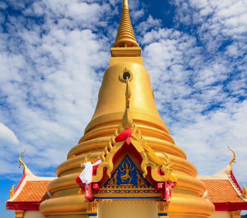 Der Tempel Wat Khao Hua Jook auf Koh Samui. Foto: AndreyOnTheMove / Shutterstock.com