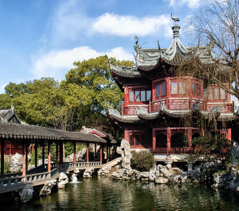 Yu Yuan Garten in Shanghai (China). Foto: Atosan / Shutterstock.com