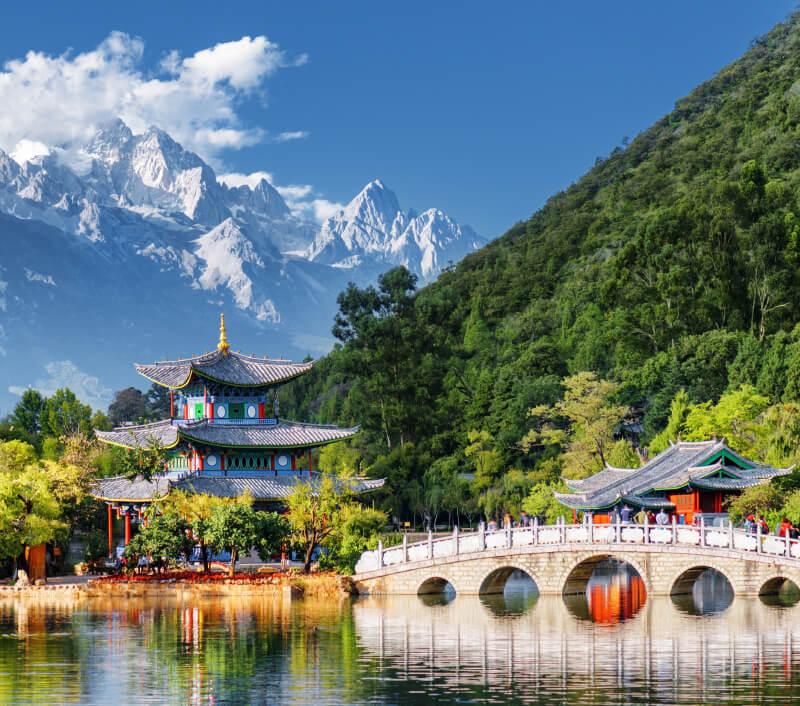 Die Provinz Yunnan liegt im Südwesten von China. Foto: Efired / Shutterstock.com