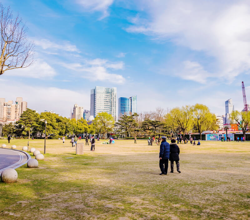 Zhongshan Park in Shanghai. Foto: asiastock / Shutterstock.com